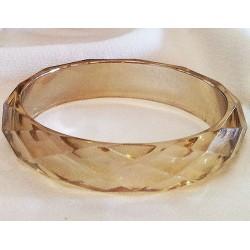 Acrylic Amber Bracelet
