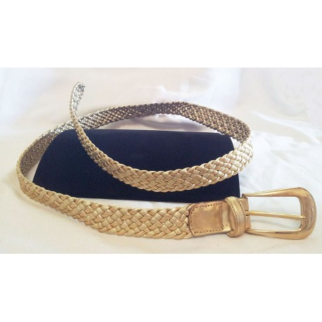 2-Tone Women's Fashion Belt