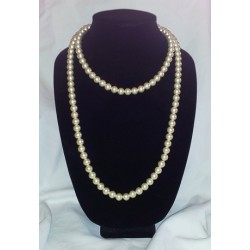 Champagne Pearl Bead Necklace