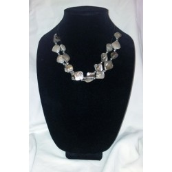 Natural Shell 2-Strand Necklace