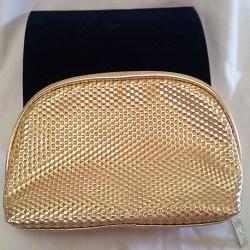 Elizabeth Arden Golden Toiletries/Make-Up Bag