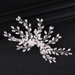 9 Sprig Rhinestone Haircomb