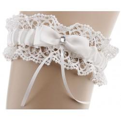 Pearl Flower Garter