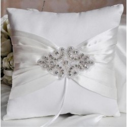 Satin Dazzler Ring Pillow