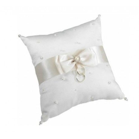 Scattered Pearls Ring Pillow