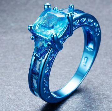 Blue Aqua Zircon
